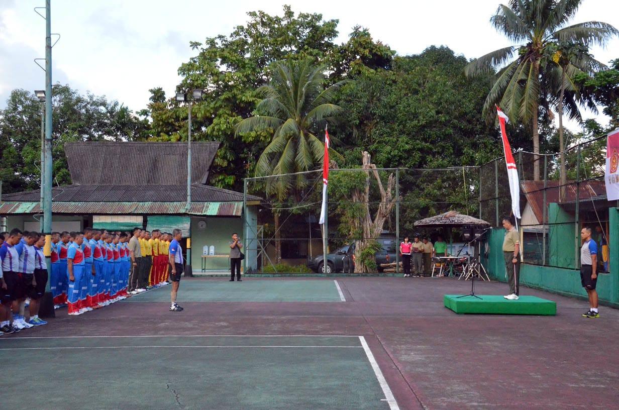 Olahraga Bersama TNI Polri 2