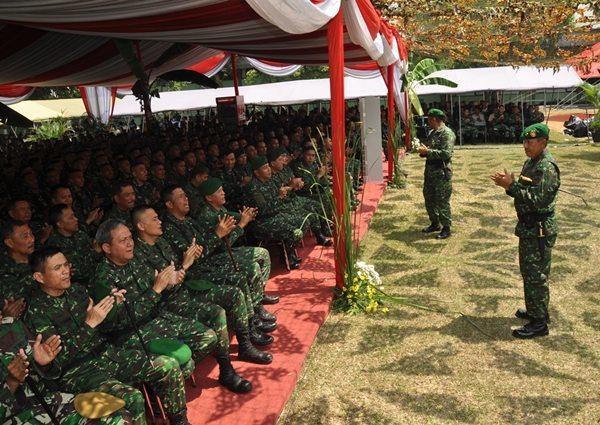 Pangdam Jaya : Prajurit berprestasi adalah prajurit yang memperbaiki kesejahteraannya