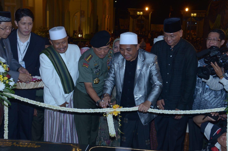 Panglima TNI Meresmikan Ponpes dan Rehabilitasi Mental Az-Zainy