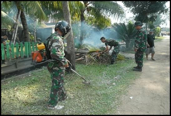 Pomdam XII/Tanjungpura Aksi Gerakan Indonesia Bersih