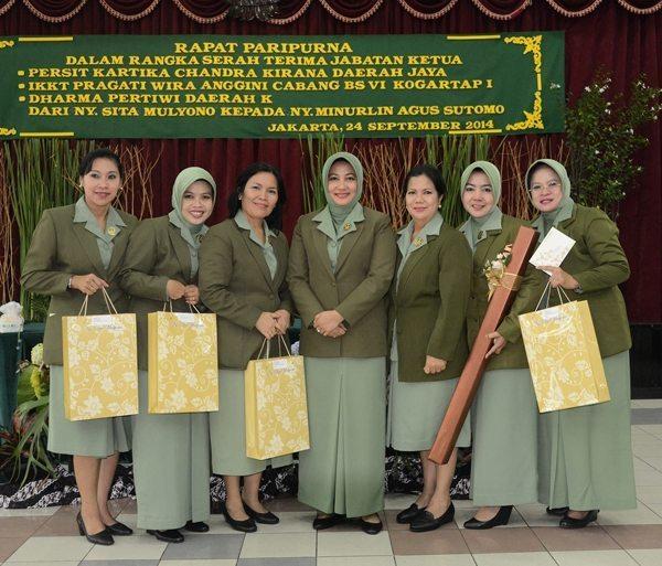 Rapat Paripurna Persit KCK PD Jaya