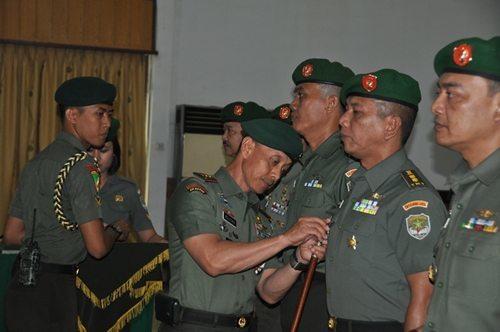 Pergantian Pejabat Kodam Jaya