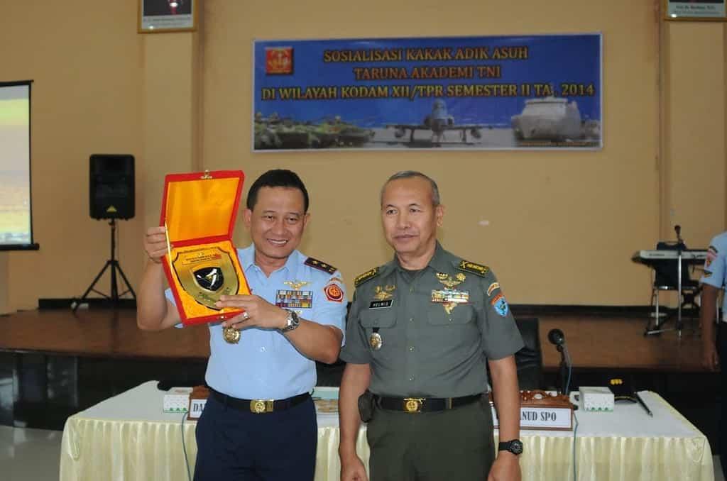 Sosialisasi Keluarga Asuh Akademi TNI