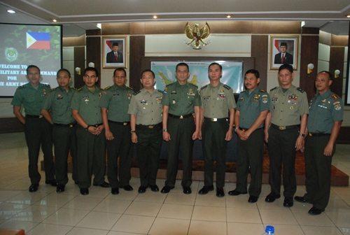 Kunjungan Tentara Filipina Ke Kodam Jaya