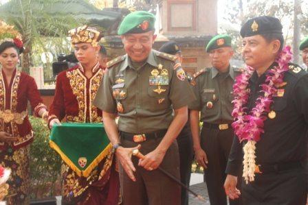 Pangdam Terima Kunjungan Delegasi Militer Thailand