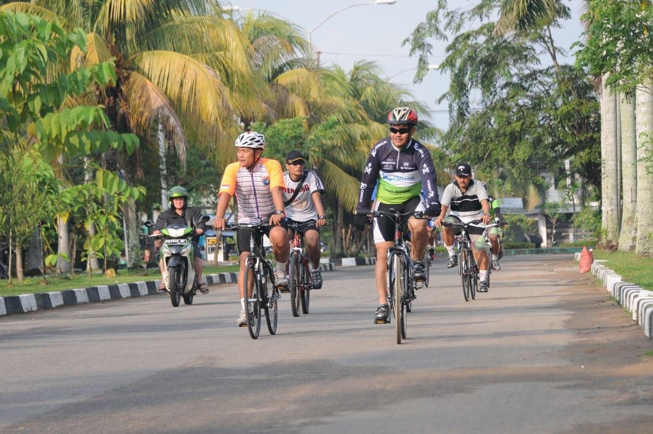 Uji Route Jelang Pelaksanaan Gowes