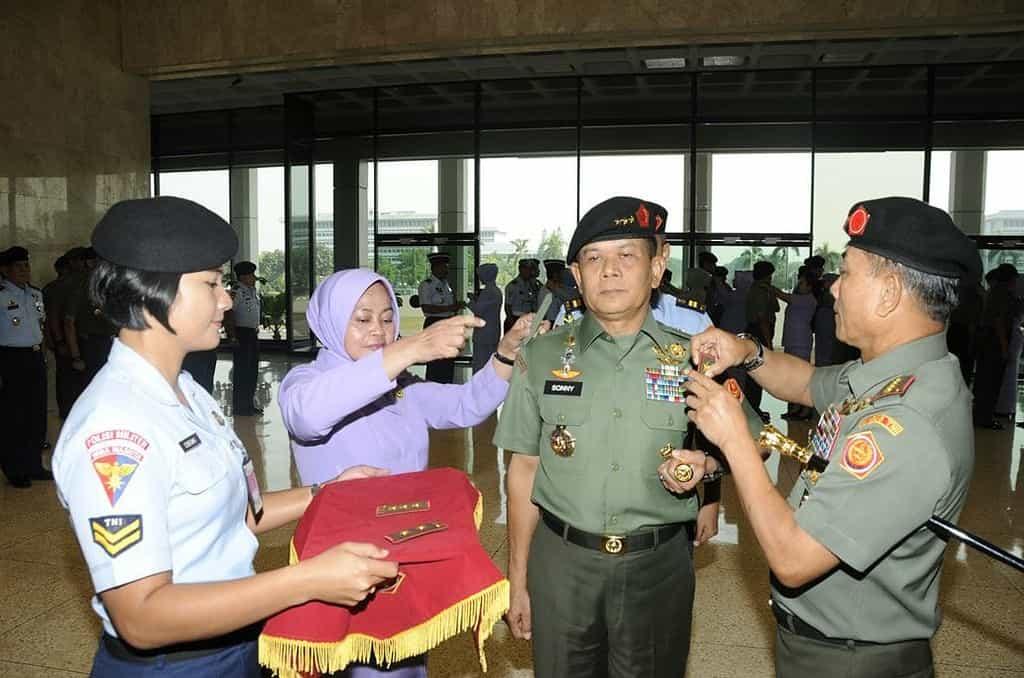 19 Perwira Tinggi TNI Naik Pangkat
