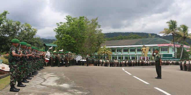 Penyambutan Brigadir Jenderal TNI Deliaman Th. Damanik, S.I.P., M.Si., Sebagai Kasdam Baru Kodam XVII/Cenderawasih
