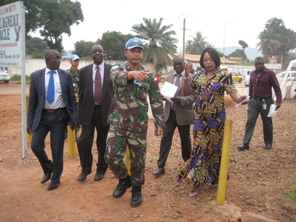 Perdana Menteri Republik Afrika Tengah Resmikan Quick Impact Project