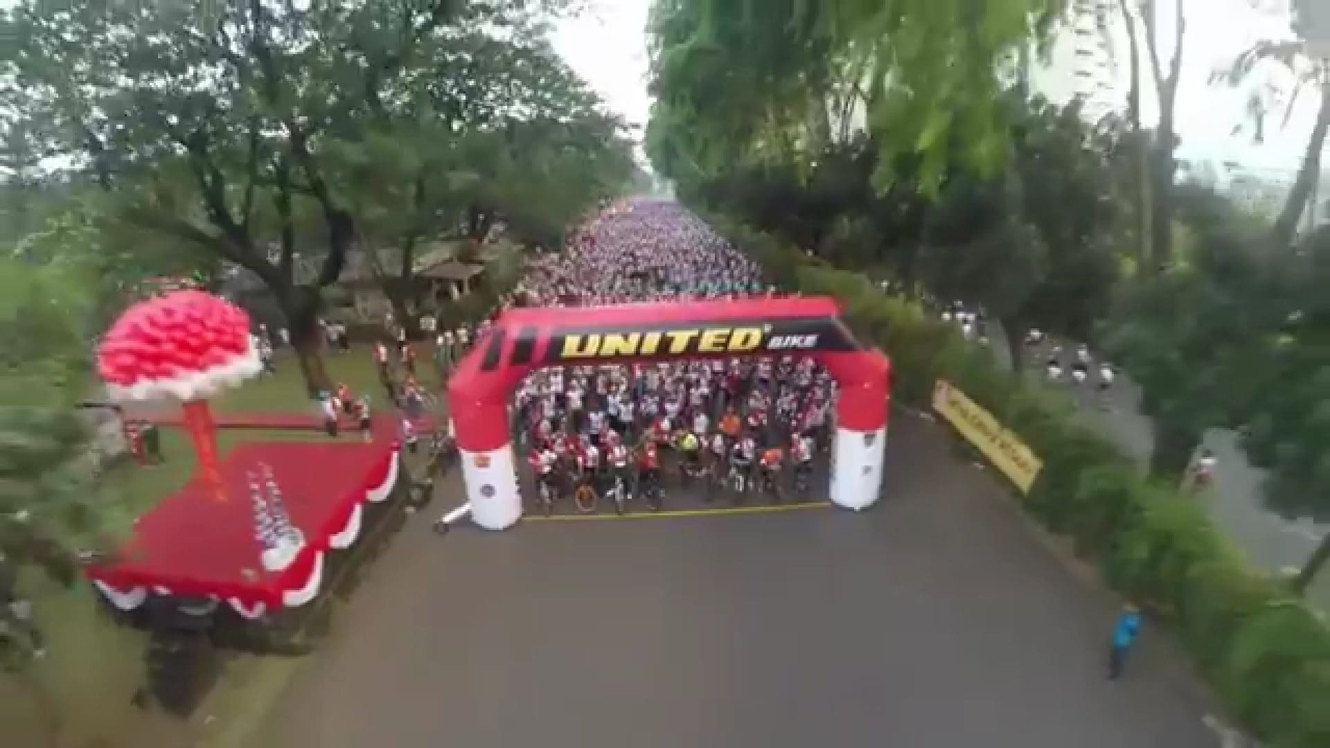 FUNBIKE HUT TNI KE 69 (Via Drone)