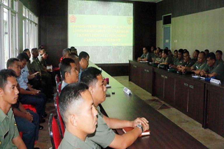 Sosialisasi Doktrin dan Bujukter TNI Dalam Rangka Mendukung Pencapaian Tugas Pokok TNI AD di Wilayah Papua