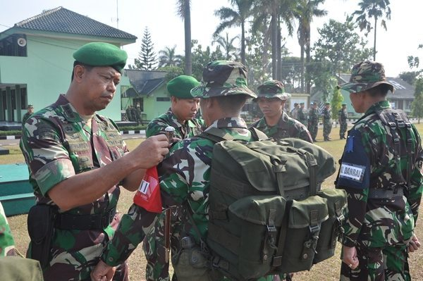 Pemantapan Prajurit Yonarmed-7/105 GS Melalui UST