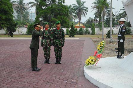 Ziarah Rombongan Dalam Rangka HUT Ke-69 TNI