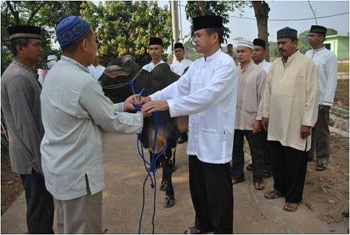 Perayaan Idul Adha di Korem 052/Wkr Legok Tangerang