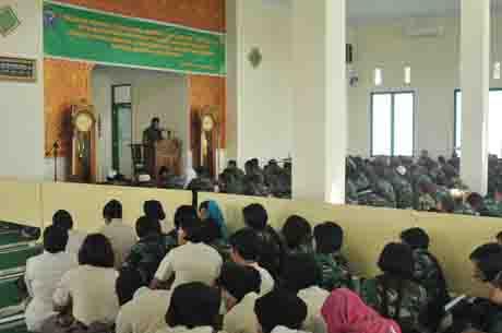 Prajurit Kodam XII/Tanjungpura Peringati Tahun Baru Islam 1436 H