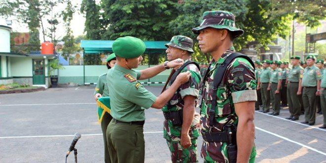 Pembekalan Calon Babinsa Kodim 0733 BS/Semarang
