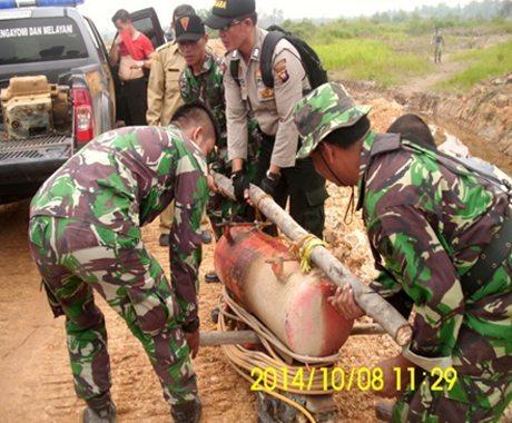 Brigif 19/Kh Dukung Berantas PETI