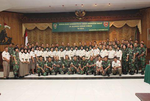 KODAM VI/MLW SOSIALISASIKAN MINU TNI-AD