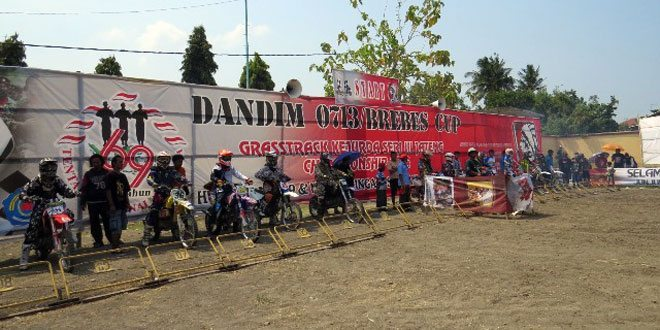 Dandim 0713/Brebes Cup Grasstrack Kejurda Seri III Jawa Tengah