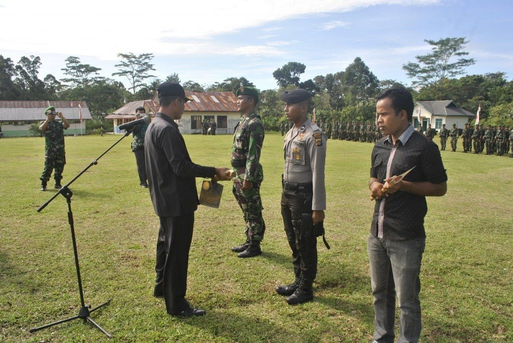 Upacara Penutupan TMMD Ke-93 Kodim 0116/Nagan Raya