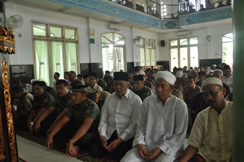 KODAM II/SWJ SAMBUT TAHUN BARU ISLAM, DOA BERSAMA UNTUK INDONESIA