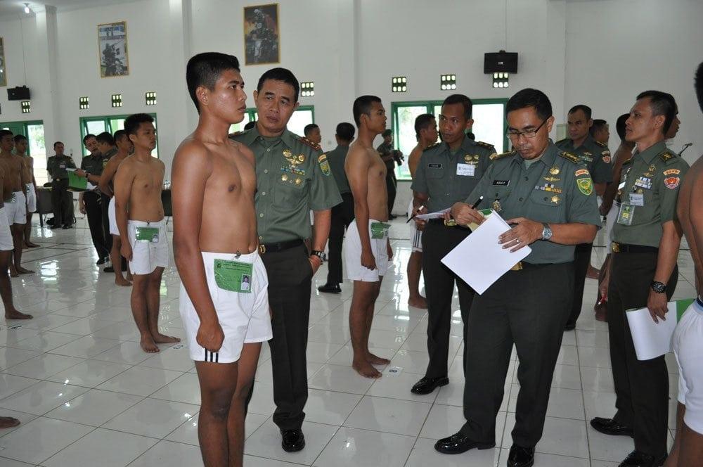 152 PEMUDATERPILIH MENJADI CALON BINTARA TNI AD