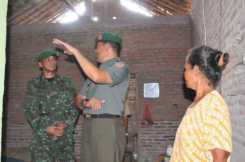 Tim Wasev Mabes TNI-AD Tinjau TMMD Regular ke 93 Kodim 0735/Surakarta
