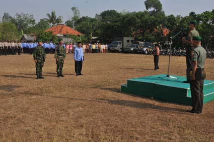 Dandim 0829/Bangkalan Pimpin Gelar Pengamanan Pelantikan Presiden/Wapres