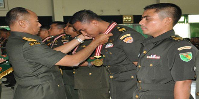 Wadan Kodiklat TNI AD Tutup Diklapa II Tahun 2014