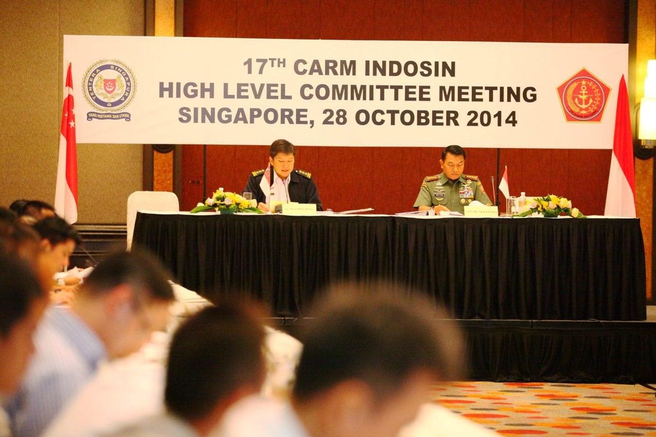 Panglima TNI Buka Sidang CARM-Indosin HLC ke-17 di Singapura