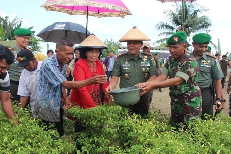 Kunjungan Pangdam XVII/Cenderawasih di Wilayah Distrik Muara Tami