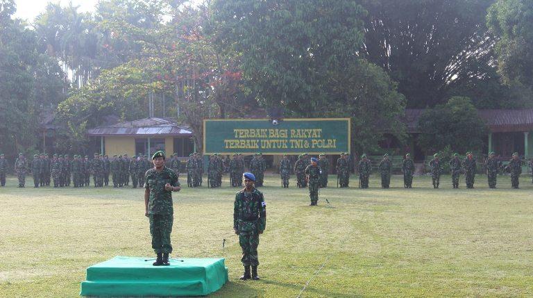 DANREM 171/PVT SEBAGAI IRUP PADA UPACARA PERINGATAN HARI SUMPAH PEMUDA KE-86 TAHUN 2014