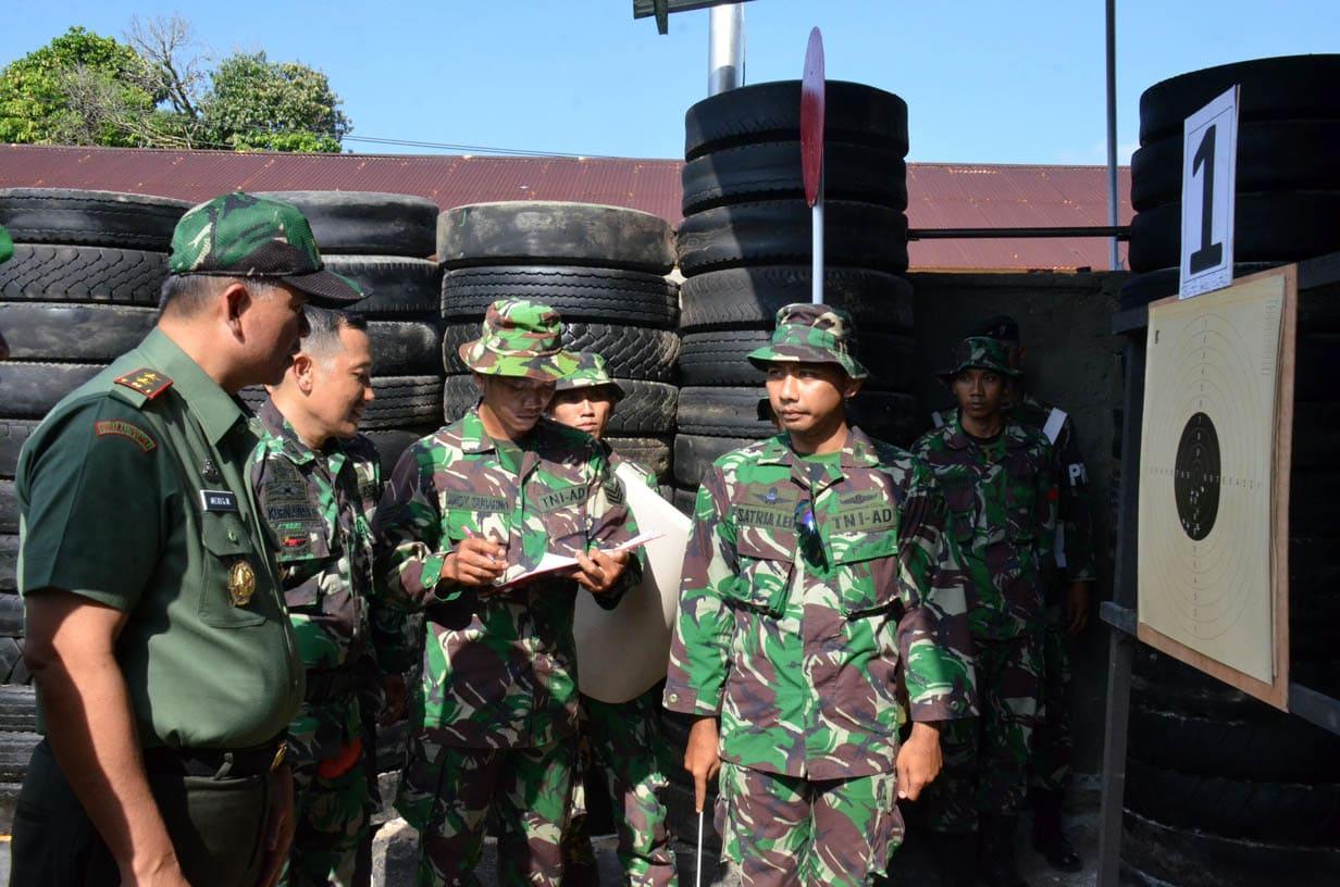 Lomba Menembak HUT TNI 69 c