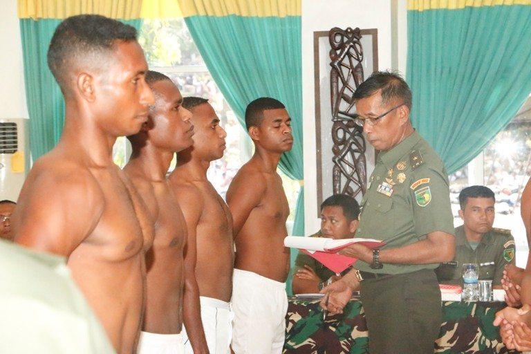 Kodam XVII/Cenderawasih Gelar Sidang Pantukhir Tingkat Daerah Bagi Calon Bintara PK TNI AD 2014