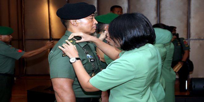 18 Pati TNI Naik Pangkat