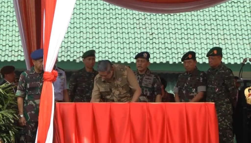 Kunjungan Presiden Ke AKMIL Dan Peresmian Para Raider