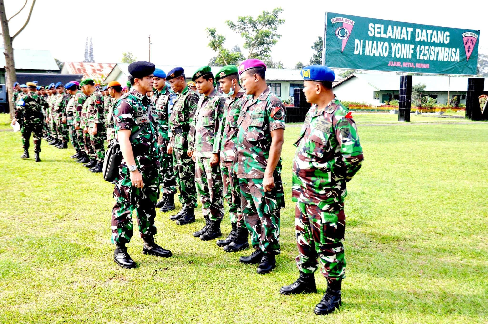 TIM MABES TNI TINJAU LATIHAN TERPADU PENANGGULANGAN BENCANA ALAM KODAM I/BB