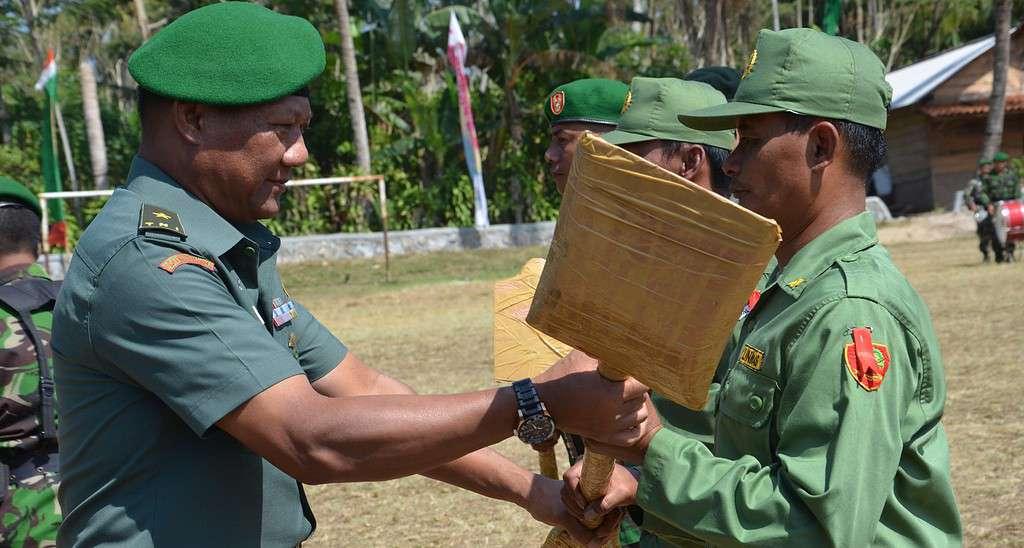 PROGRAM TMMD TNI SANGAT DIBUTUHKAN MASYARAKAT PROVINSI LAMPUNG