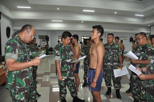Seleksi 63 Calon PA PSDP di Kodam Jaya