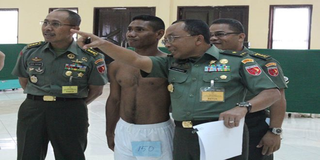 Sebanyak 232 Calon Siswa Secaba PK TNI AD Pria/ Wanita Mengikuti Seleksi Tingkat Pusat