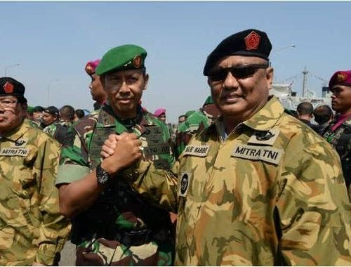 Pangdam Jaya Hadiri Pembaretan Gubernur Se Indonesia