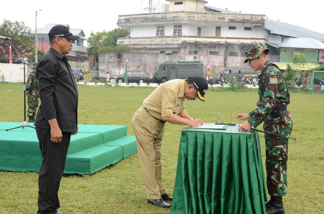 UPACARA PENUTUPAN TNI MANUNGGAL MEMBANGUN DESA (TMMD) KE – 93 TA. 2014