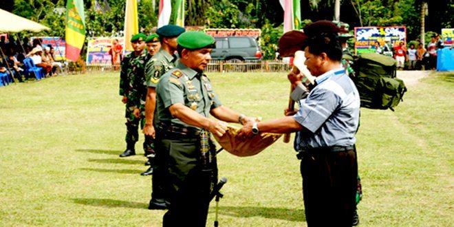 Pangdam I/BB Pimpin Pembukaan TNI Manunggal Membangun Desa ke-93 Ta. 2014