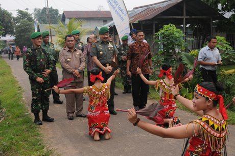 Pangdam Buka TMMD Ke-93 Wilayah Kodam XII/Tanjungpura