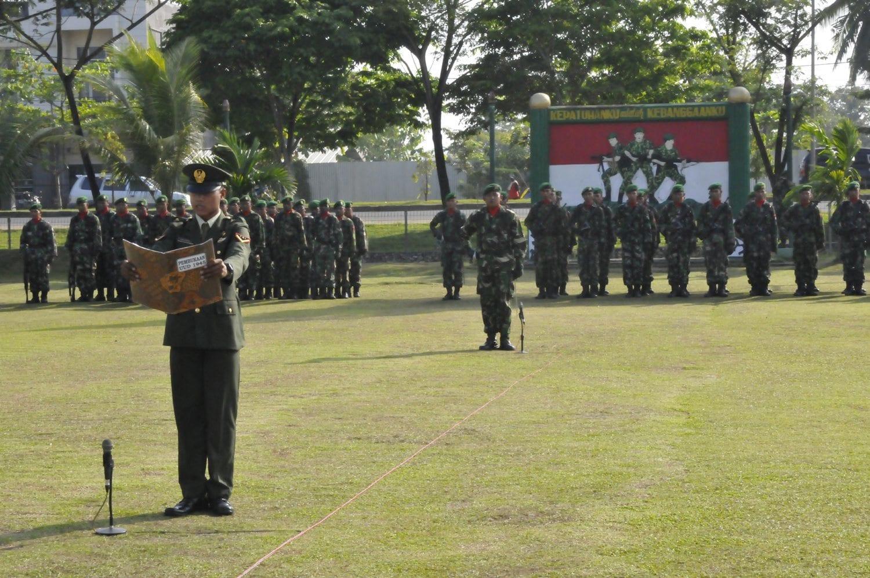 UPACARA PERINGATAN HARI KESAKTIAN PANCASILA GABUNGAN TNI-POLRI DAN PEMDA TAHUN 2014