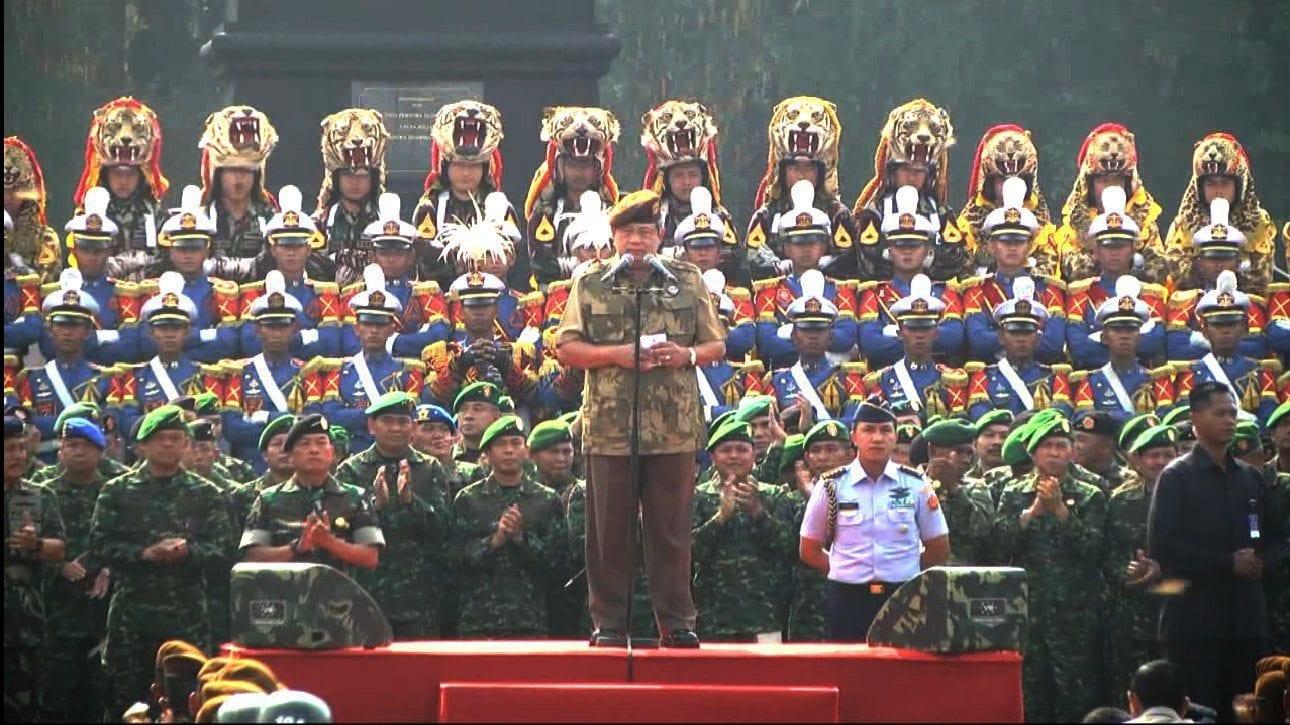 TNI dan Polri Terus Tingkatkan Kualifikasi Dengan Latihan dan Pendidikan