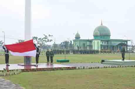 Kasdam XII/Tanjungpura Irup Upacara Hari Sumpah Pemuda