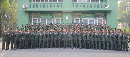 Upcra HUT TNI di Korem 052