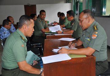 IRJENAD ADAKAN WASRIK KE KODIKLAT TNI AD BESERTA JAJARANNYA