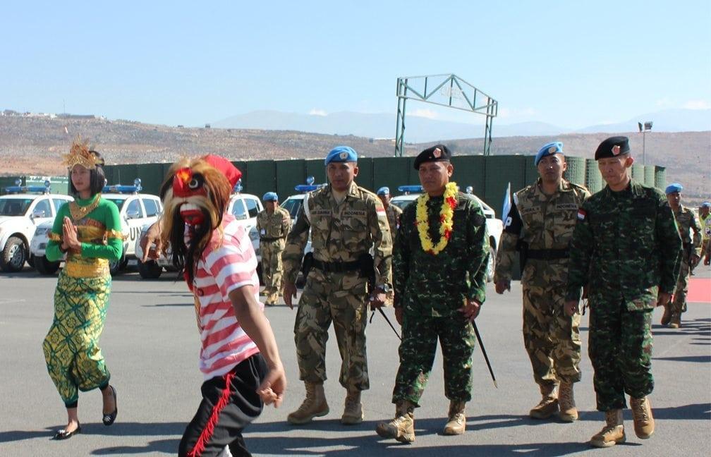 Komandan PMPP TNI Kunjungi Satgas POM TNI